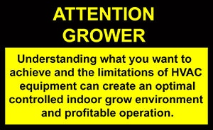 Attention Grower label