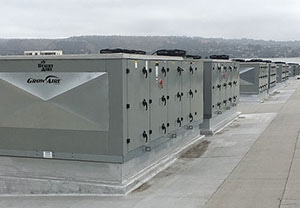 Desert Aire GrowAire Grow Room HVAC equipment on rooftop