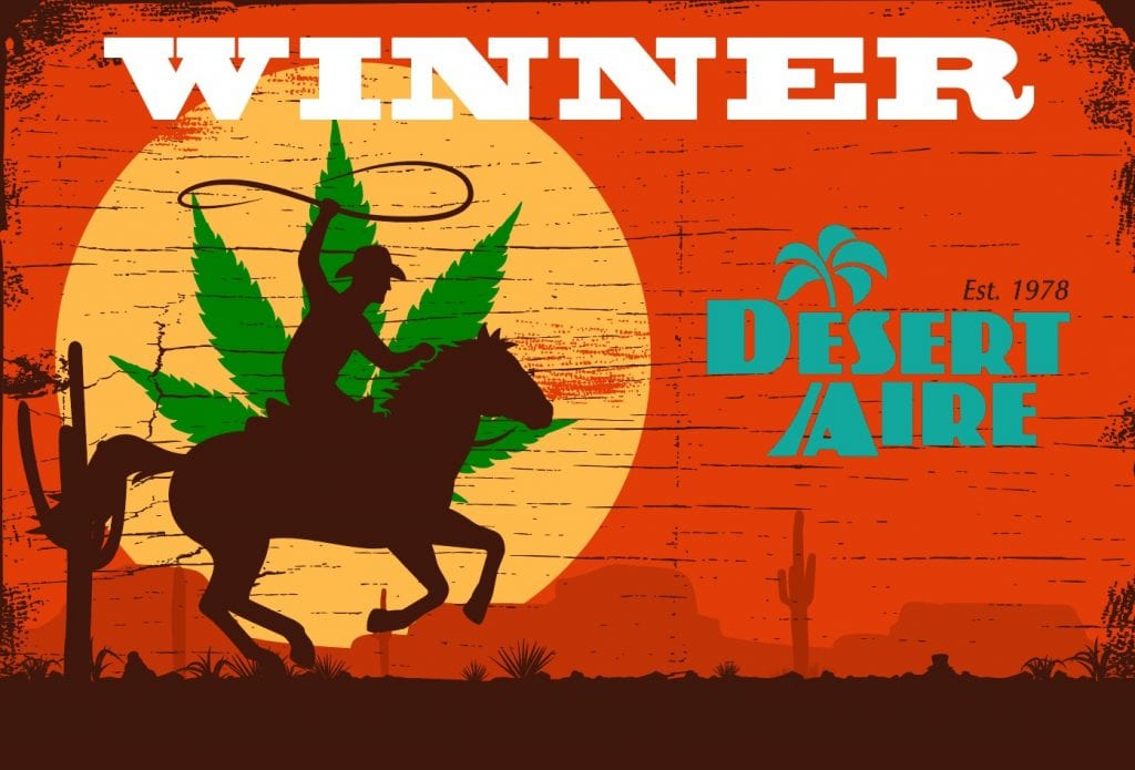 Desert Aire is the Winner of the HVAC System for Cannabis Showdown