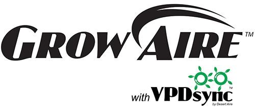 GrowAire with VPDsync logo