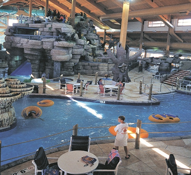 Desert Aire units dehumidify indoor aquatic facilities