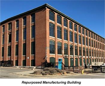 Repurposed Manufacturing Building