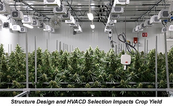 Structure Design And HVACD Selection Impacts Crop Yield