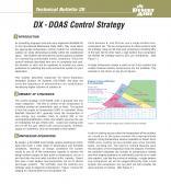 DX DOAS Control Strategy Technical Bulletin 20