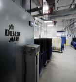 Desert Aire industrial dehumidifier for mink pelt processing facility