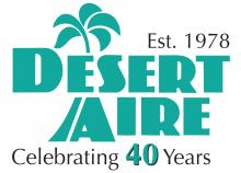 Desert Aire 40th Anniversary logo