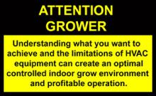 Attention Cannabis Grower warning label