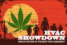 Cannabis Grow Room HVAC System Comparison Showdown article graphic