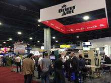 Desert Aire trade show booth at AHR 2019