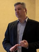 Craig Burg speaks at ASHRAE meeting