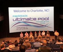 Keith Coursin speaks on Paddock Ultimate Pool Conference Panel