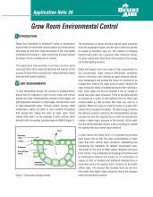 Desert Aire News Grow Room Environmental Control Application Note 26 Front Cover