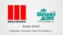 Desert Aire and Multistack Team Up At AHR Expo 2018
