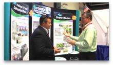 Desert Aire President Keith Coursin at AHR Expo