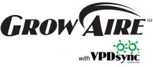 GrowAire with VPDsync logo